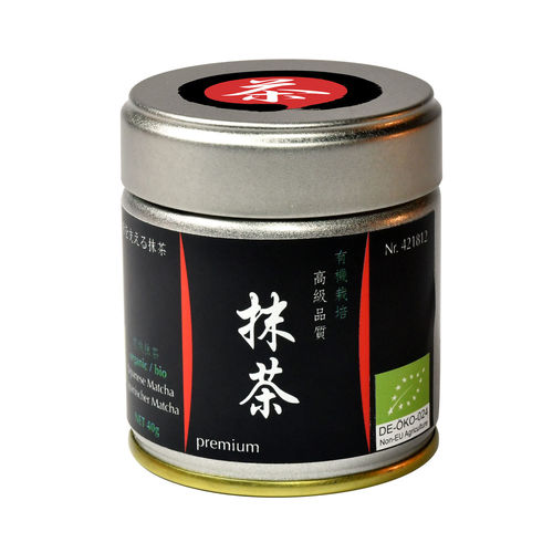 Bio Matcha Premium - 40g tin - Flavor Sealed - Japan