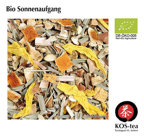 Bio Sonnenaufgang (sunrise) - herbal tea