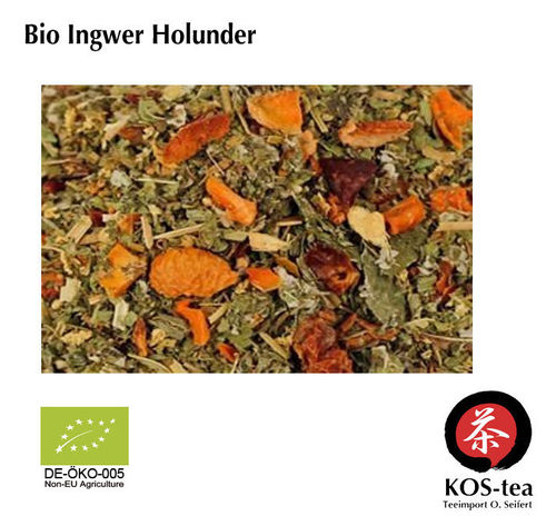 Bio Ginger Elderberry - herbal tea