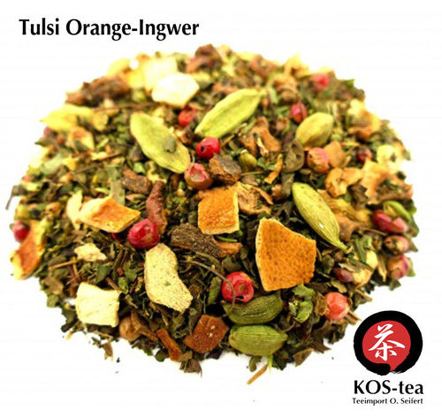 Tulsi Orange-Ingwer - Kräutertee